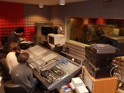 The recording studio facilities at Melbourne Polytechnic. Photo credit: Melbourne Polytechnic