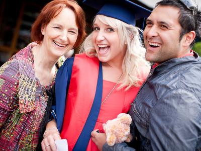 Student graduation day. Photo credit: Otago Polytechnic