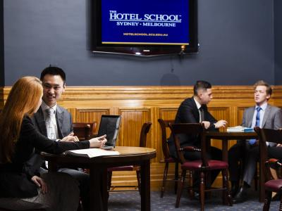 Study at the Hotel School. Photo credit: The Hotel School