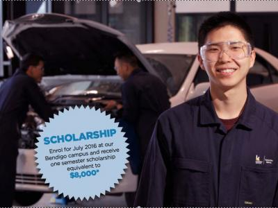 Kangan Institute automotive scholarships 2016.