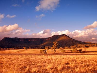 The Blue Mountains in NSW.  Photo credit: Tourism Australia.