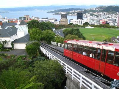 Wellington cable car.  Photo credit: Rhiannon Davies
