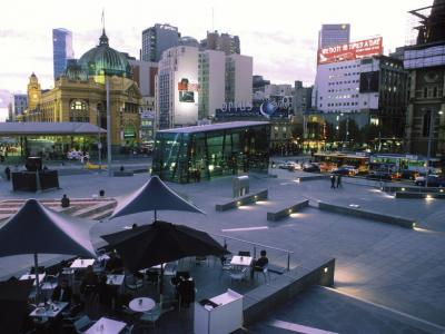 Federation Square, Melbourne. Photo credit: Tourism Australia copyright.