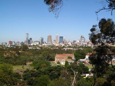 View of Melbourne city.  Photo credit: Rhiannon Davies
