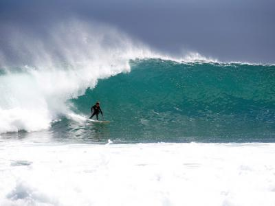 Kalbarri Surfing, Southern Coral Coast.  Photo credit: Tourism Australia
