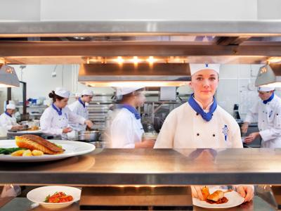 Qualify in the hospitality industry and you could work anywhere in the world.  Photo credit: Le Cordon Bleu