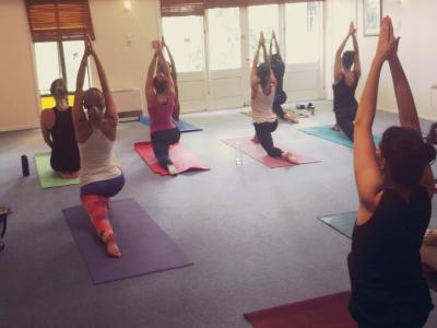 Yoga students at Wellpark College. Photo credit: Wellpark College of Natural Therapies