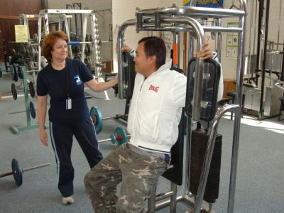 Melbourne Polytechnic is well equipped with a gym and many other facilities for students.  Photo credit: Melbourne Polytechnic