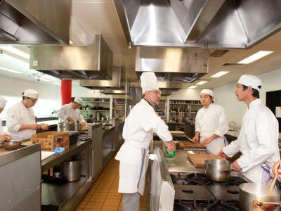 Kitchen facilities. Photo credit: TasTAFE