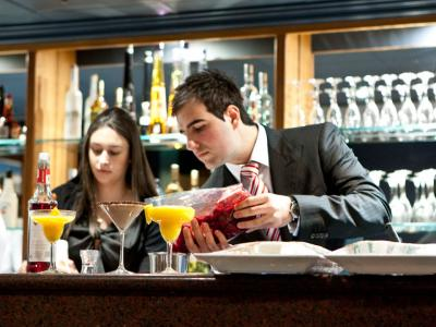 You are entitled to take a part-time job on a student visa.  Photo credit: The Hotel School Sydney