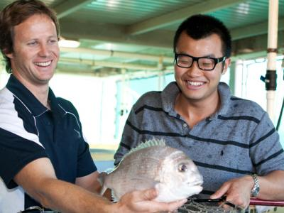 Aquaculture students. Photo credit: TAFE WA
